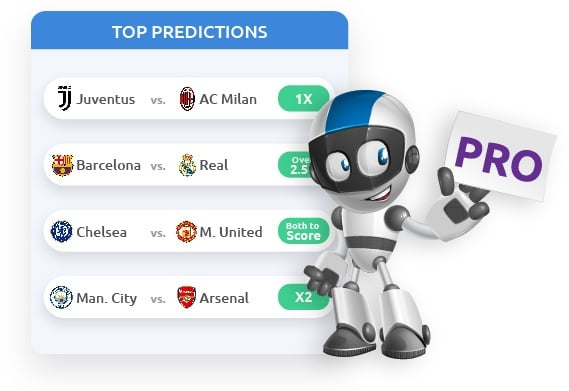 Tipsterion PRO soccer predictions illustration