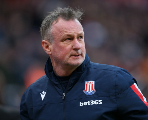Stoke have confirmed chief Michael O'Neill has tested positive for coronavirus