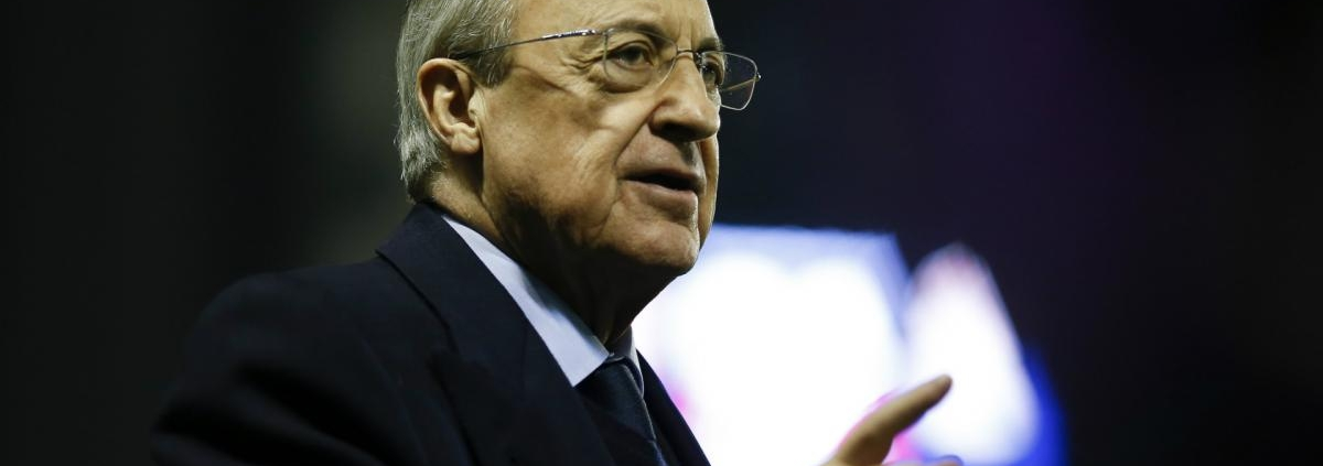 Florentino Perez, Real Madrid's president, says there won't be any big purchases this season
